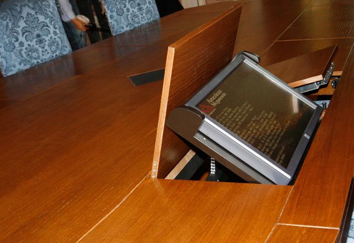 Quinta dimensione design studio massimo salvagno - Tavolo multimediale ...