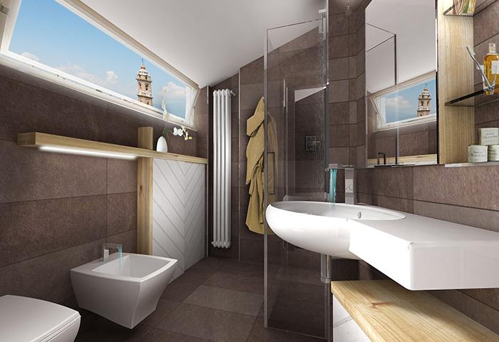 Bagno Moderno Mansarda: Luglio bagni stili privati rubriche periodiche.