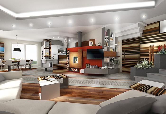 living soggiorno cucina ~ dragtime for . - Living Soggiorno Cucina
