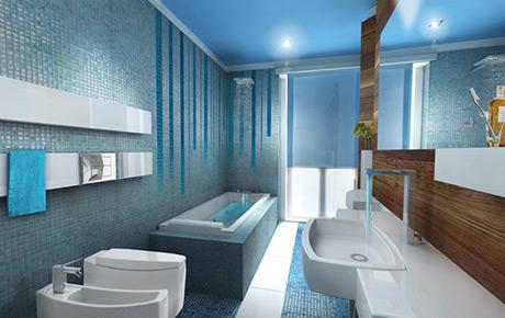 Idee bagno mosaico : QUINTA DIMENSIONE // Design Studio Massimo Salvagno arredamento interni e design